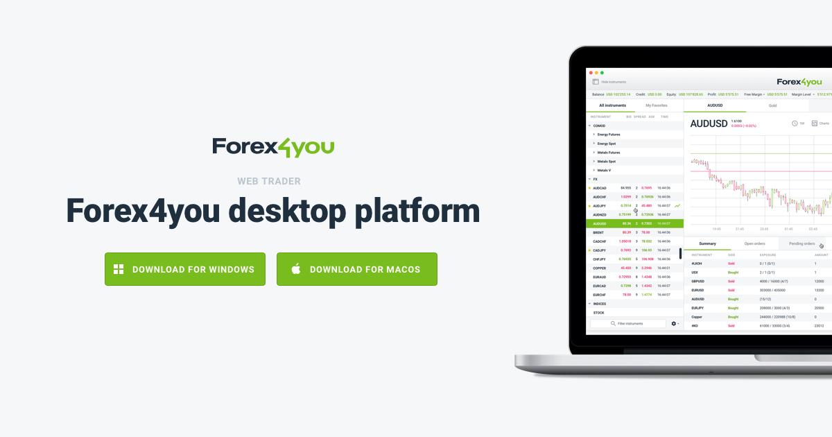 Forex4you login