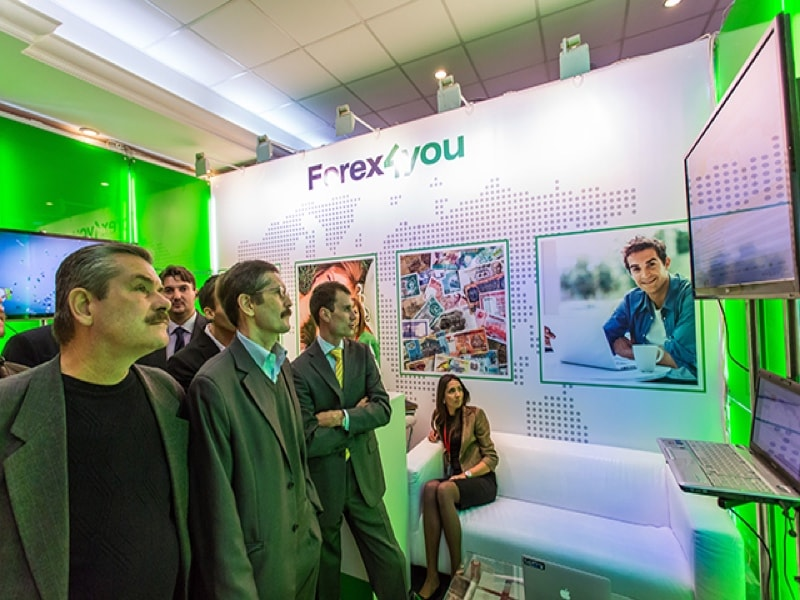 Forex4you at Forex Exhibitions | Forex Events