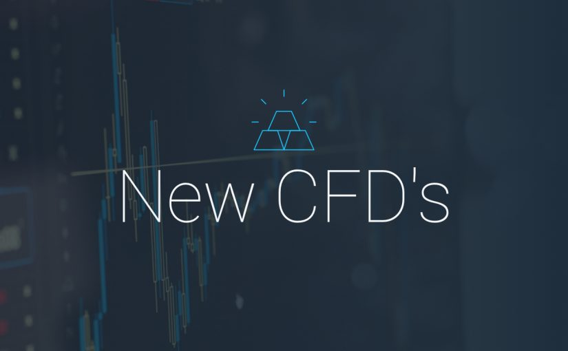 Trade new CFDs on Forex4you: Google, Facebook, oil, gas and much more