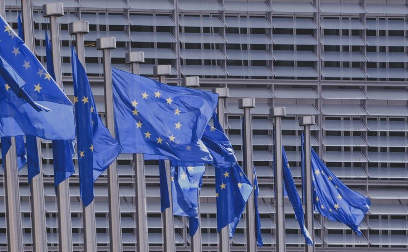EU waving flags, E-Global gets European license