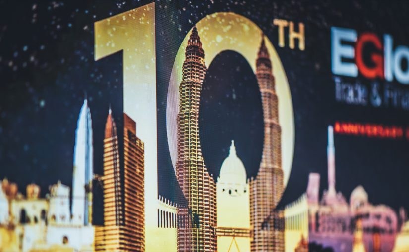 Forex4you 10 years anniversary card