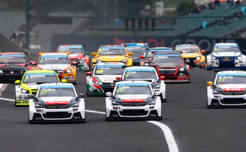 Forex4you official WTCC sponsor 2013, car racing competition in action