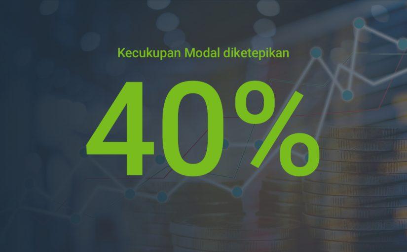 Kecukupan Modal Forex4you Melebihi 40% pada tahun 2015