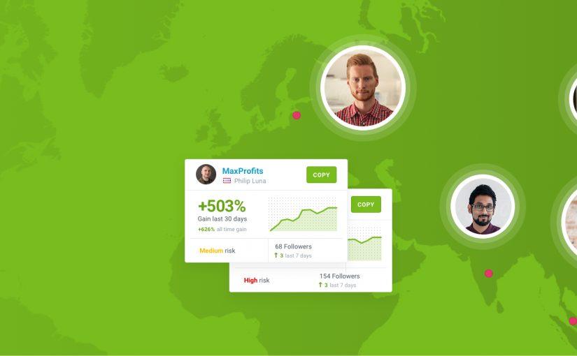 Imej hijau dengan peta di latar belakang dan kad Lead4 Share4you