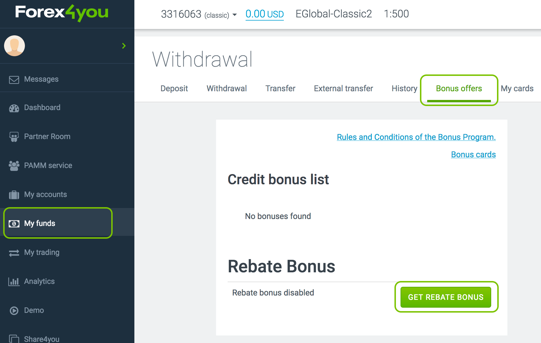 Aktifkan bonus rebet