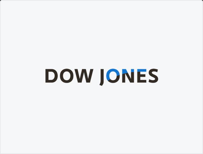 โลโก้ Dow Jones