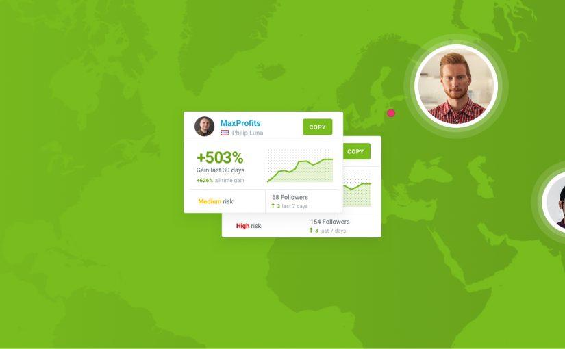 Hình ảnh màu xanh lá cây với bản đồ và thẻ Leader của Share4you