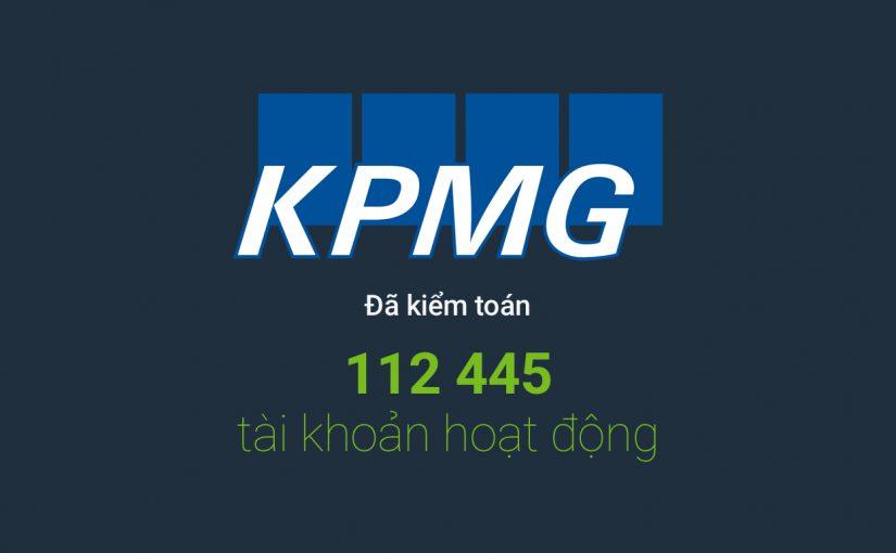 KPMG đã kiểm toán 112 445 Tài khoản đang hoạt động Forex4you vào năm 2016