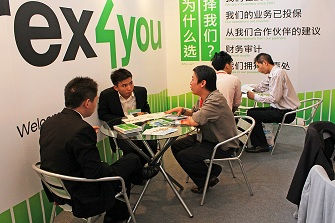 Forex4you at major financial expo China 2011, November - picture small 6