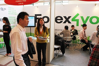 Forex4you at major financial expo China 2011, November - picture small 7