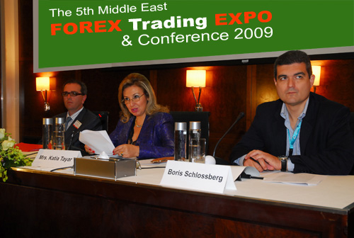 Forex4you at Dubai Middle East Forex Expo 2009 - picture 2