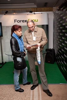 Forex4you at Ukraine Forex Expo 2011, November - picture 14 small