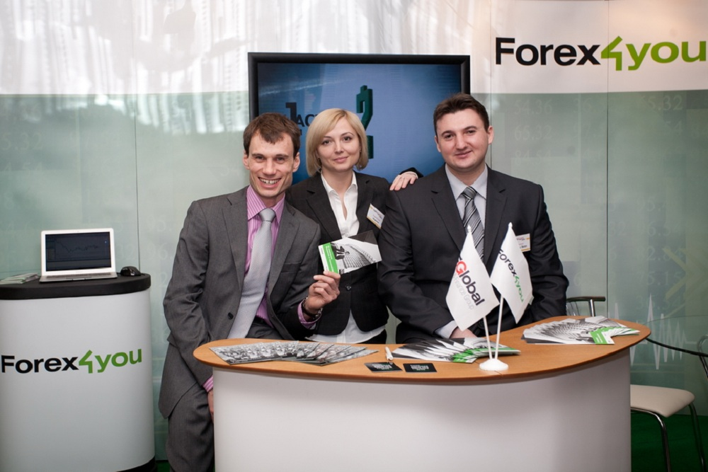 Forex4you at Ukraine Forex Expo 2011, November - picture 2 large
