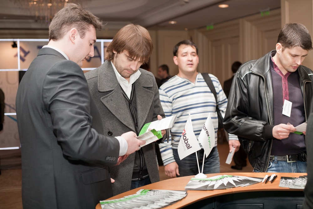 Forex4you at Ukraine Forex Expo 2011, November - picture 3 large