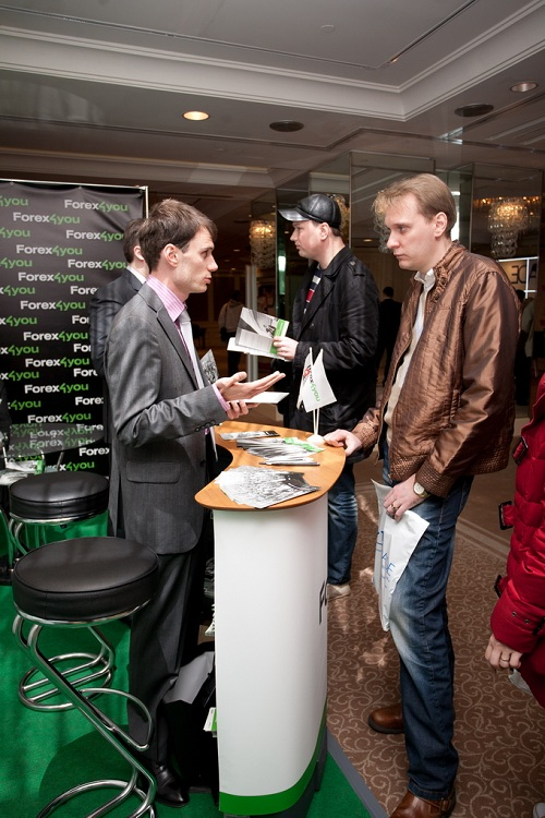Forex4you at Ukraine Forex Expo 2011, November - picture 6 large