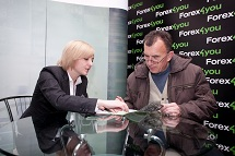 Forex4you at Ukraine Forex Expo 2011, November - picture 8 small