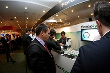 Forex4you at Moscow Forex Expo 2011, November - picture 2 small