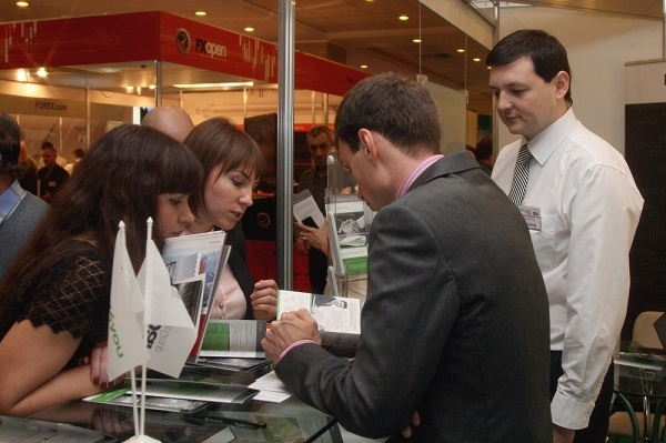 Forex4you at Moscow Forex Expo 2011, November - picture 6 large