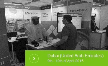 Forex4you at 14th MENA Forex Expo in Dubai